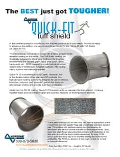 Abrasion Resistant Tuff Sheild